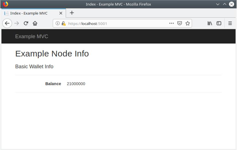 Elements  NET Core MVC app | elementsproject org
